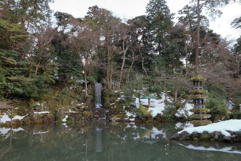 Patio du Japon image libre de droits