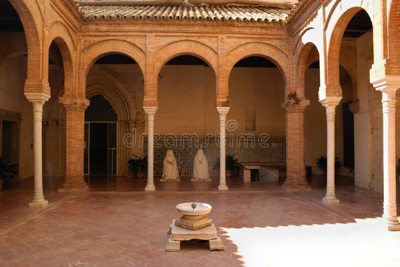 Patio in La Cartuja royalty free stock images