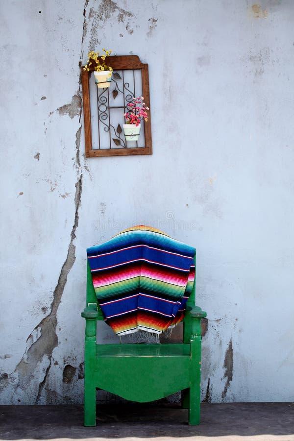 Patio mexicain images libres de droits