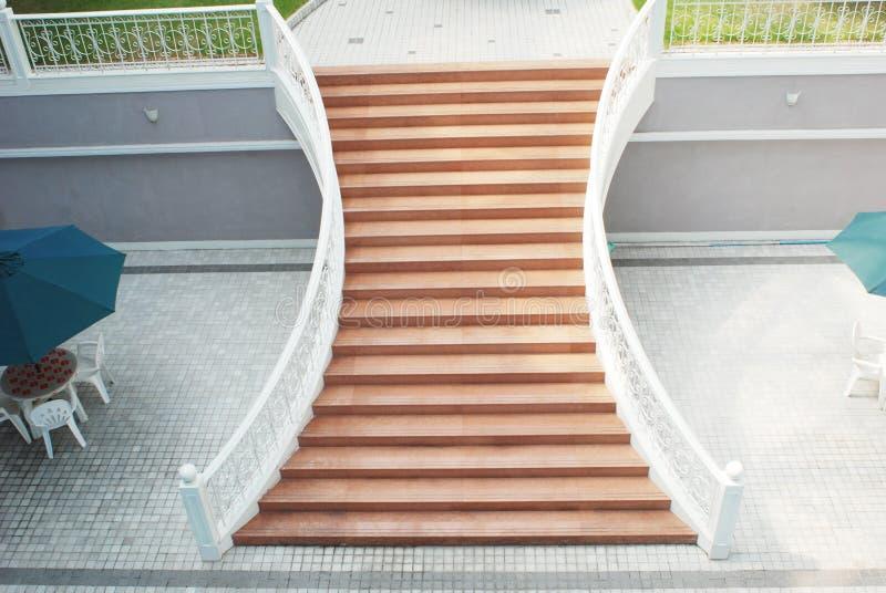 patio ogrodowy hotelowy schody obrazy stock