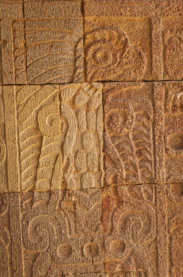 Patio of the Pillars & x28;Patio de los Pilares& x29;, Teotihuacan royalty free stock photos