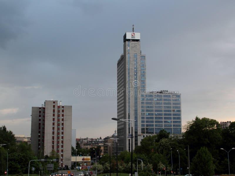 Patio por Marriott, Katowice imagen de archivo libre de regalías