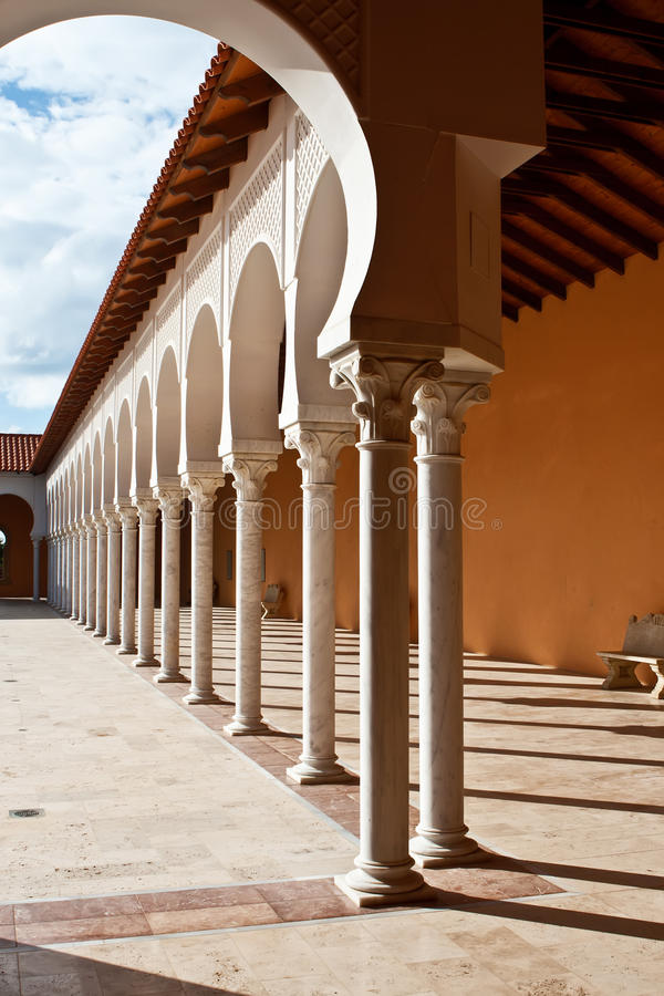 Download Patio In Spanish Style. Israel Stock Image   Image: 18483171