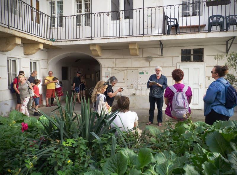 Patios de poco cuarto en Praga foto de archivo libre de regalías