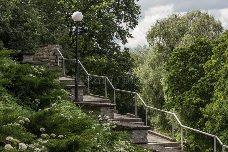 Patkuli Stairs In Tallinn Royalty Free Stock Image