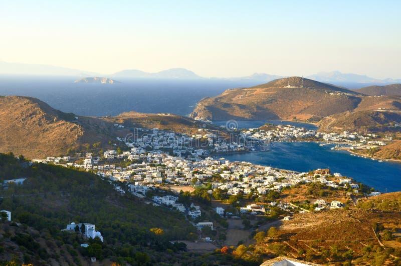Patmos lizenzfreies stockfoto