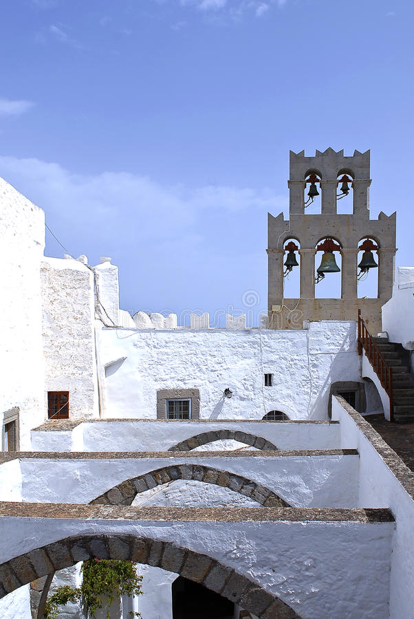 Patmos-Insel, Griechenland stockfoto