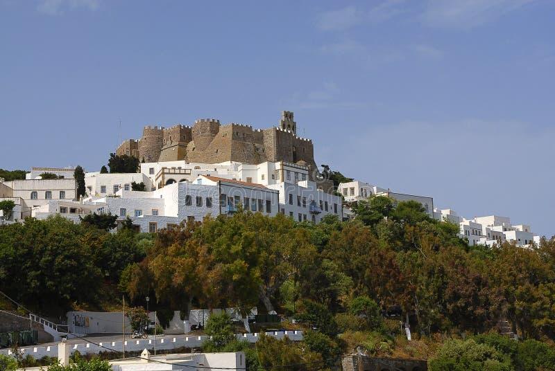 Patmos wyspa, Grecja obrazy stock