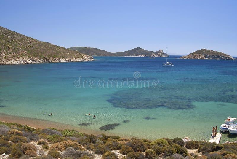 Patmos wyspa, Grecja zdjęcie royalty free