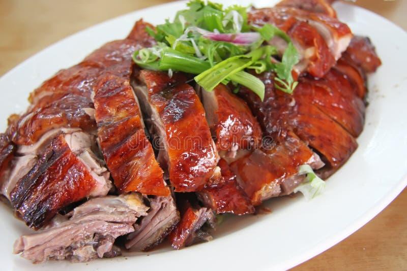 Pato de carne asada imagen de archivo