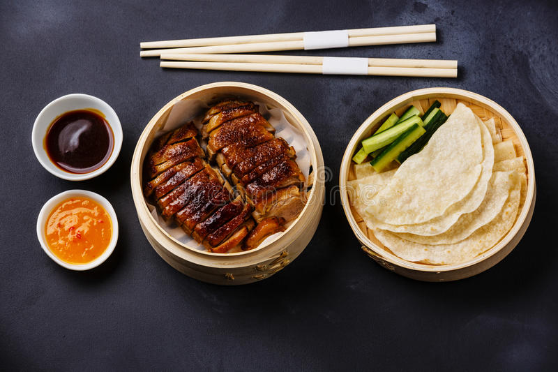 Pato de Peking fotos de stock royalty free