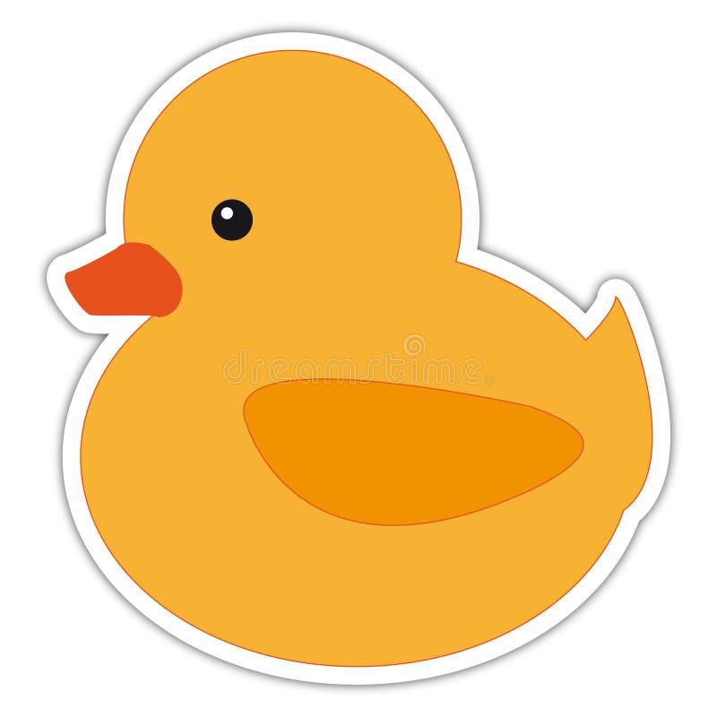 Pato lindo stock de ilustración