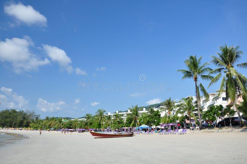 patong phuket Таиланд пляжа стоковые изображения rf