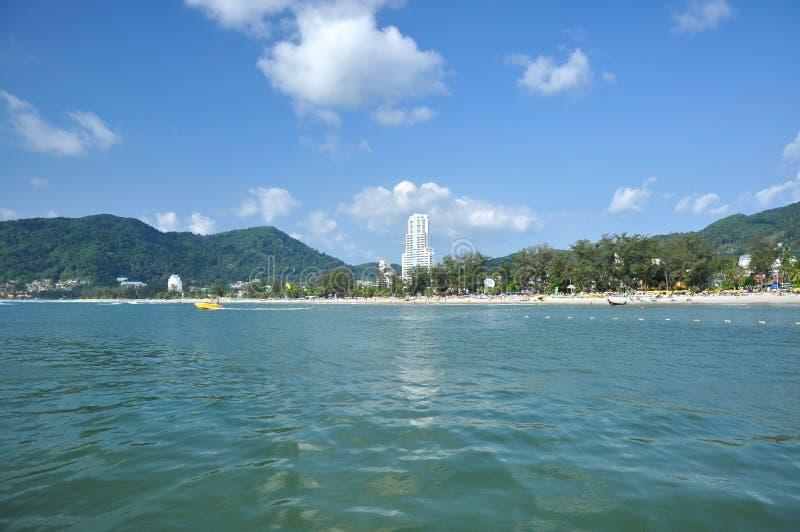 patong phuket Таиланд пляжа стоковое фото