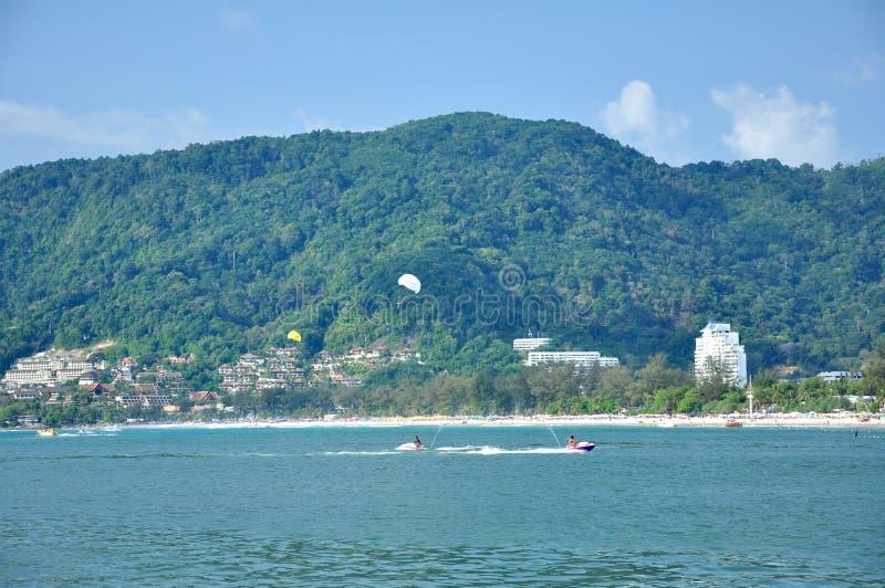patong phuket Таиланд пляжа стоковое фото rf