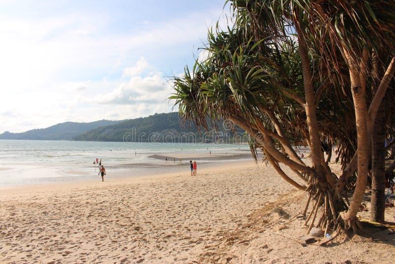 Patong Strand Phuket stockbild