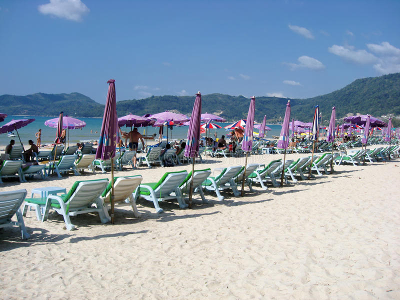 Patong, Thailand stock afbeelding