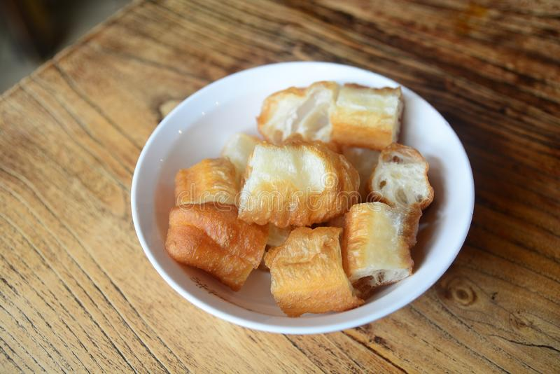 Patongko, Chinese Donut or Chinese Bread stick. oil-fried bread stick pastry royalty free stock photo