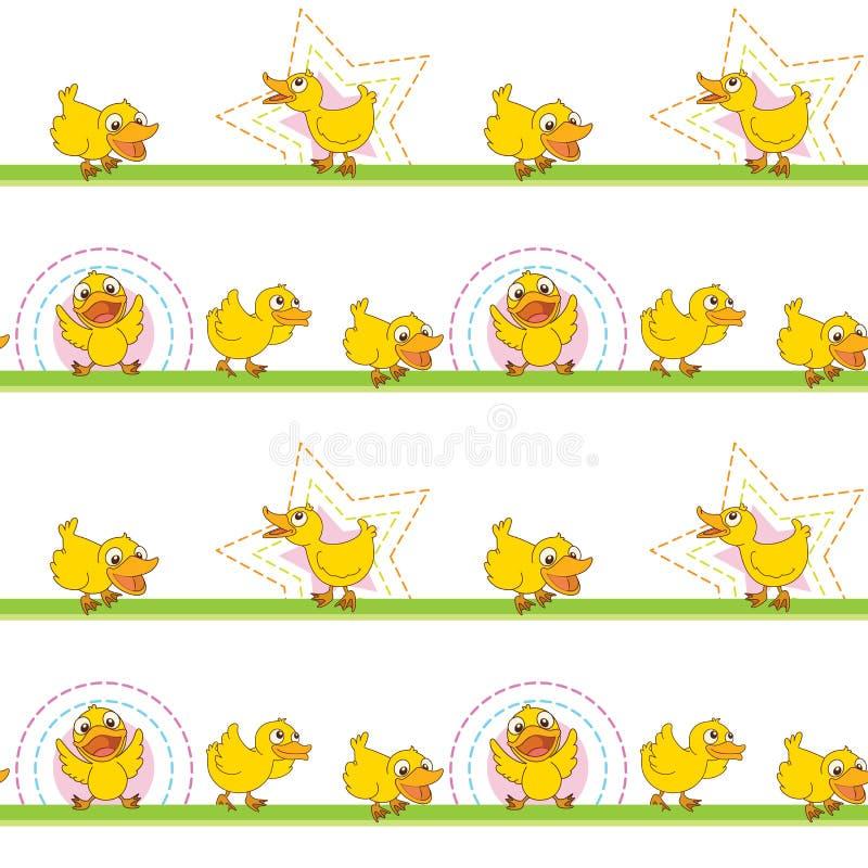 Patos stock de ilustración