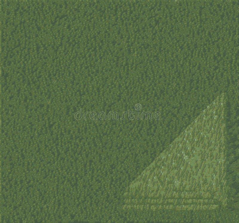 Patrón de color de agua abstracto de color verde sin fin con fondo degradado de línea floral fotografía de archivo libre de regalías