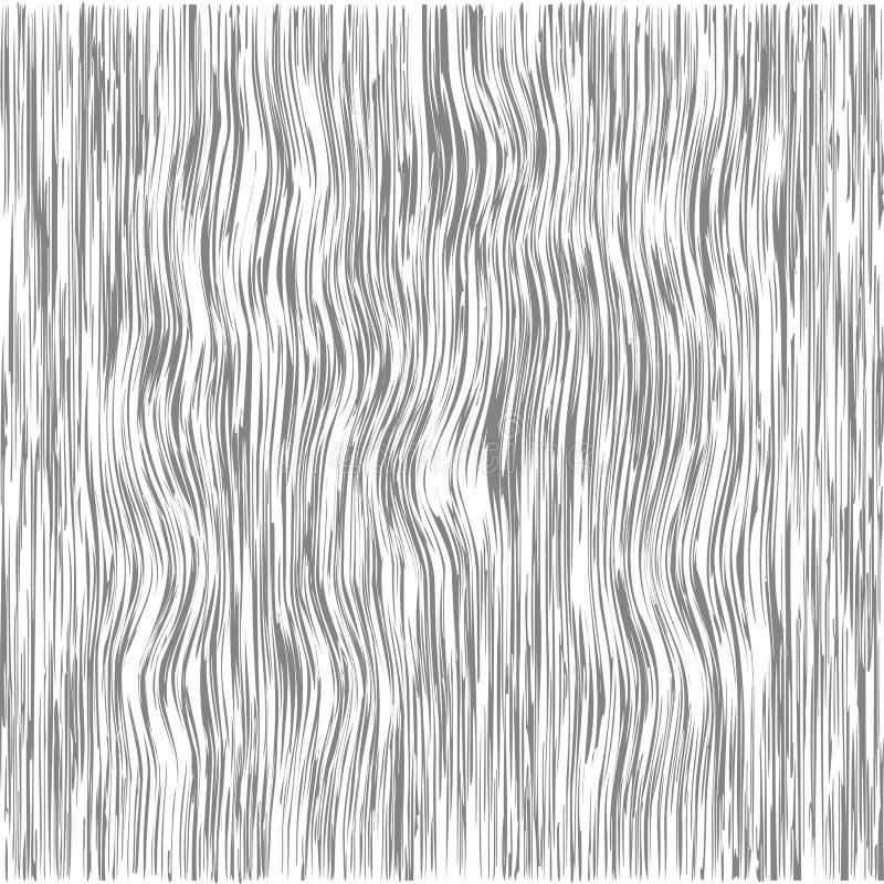 Patrón de madera Textura de grano de madera Líneas de densidad Antecedentes abstractos Ilustración del vector libre illustration