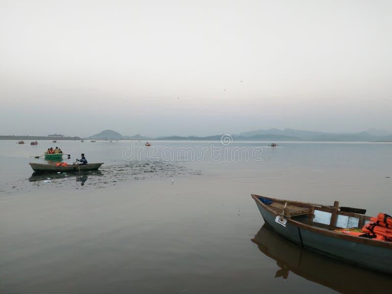 Patratu sjö ranchi royaltyfria foton