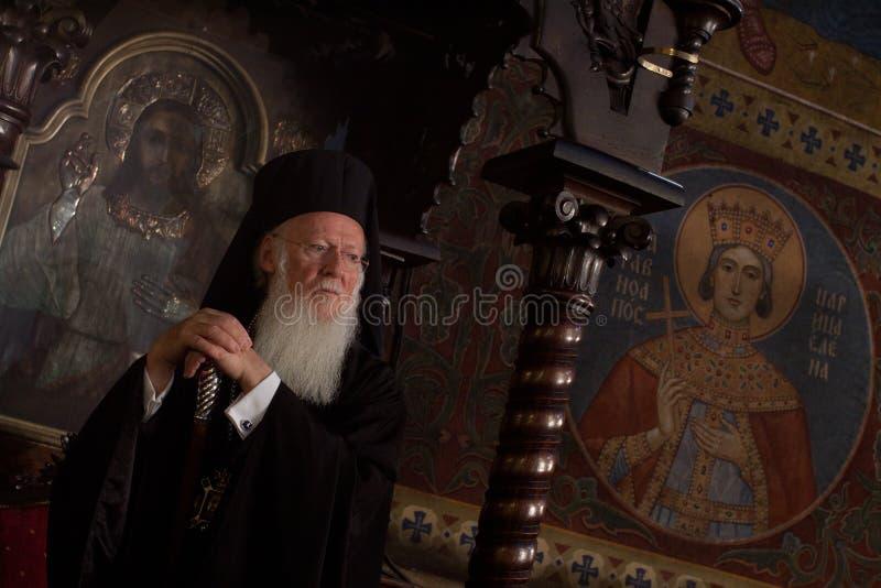 Patriarca ecuménico Bartholomew fotografía de archivo
