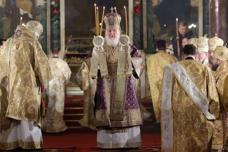 Patriarca ruso Kirill foto de archivo