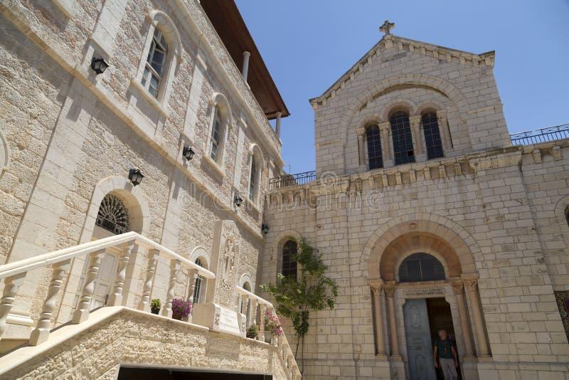 Patriarcat catholique arménien de Jérusalem photos stock