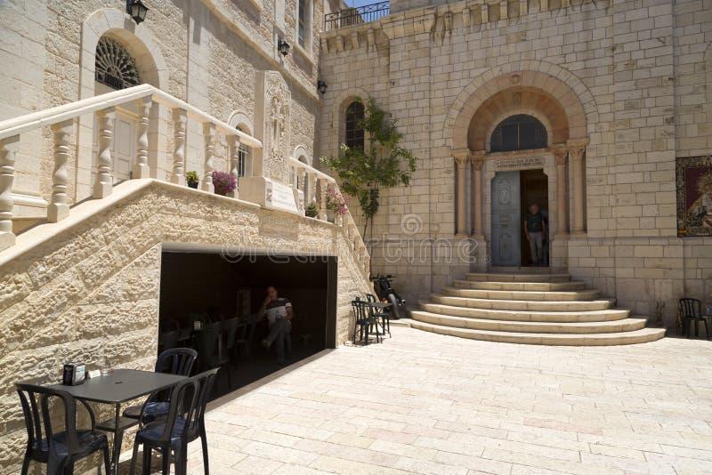 Patriarcat catholique arménien de Jérusalem images stock