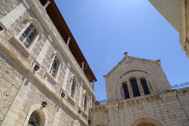 Patriarcat catholique arménien de Jérusalem photographie stock
