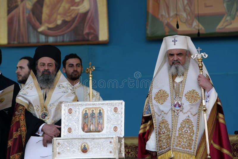 Patriarch Daniel van Roemenië royalty-vrije stock foto's