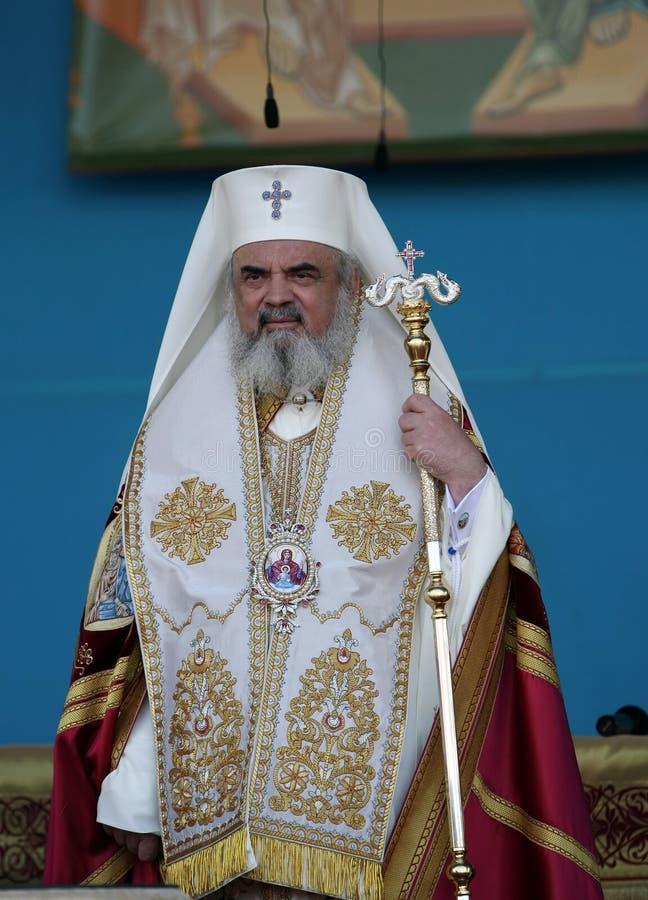 Patriarch Daniel van Roemenië royalty-vrije stock foto