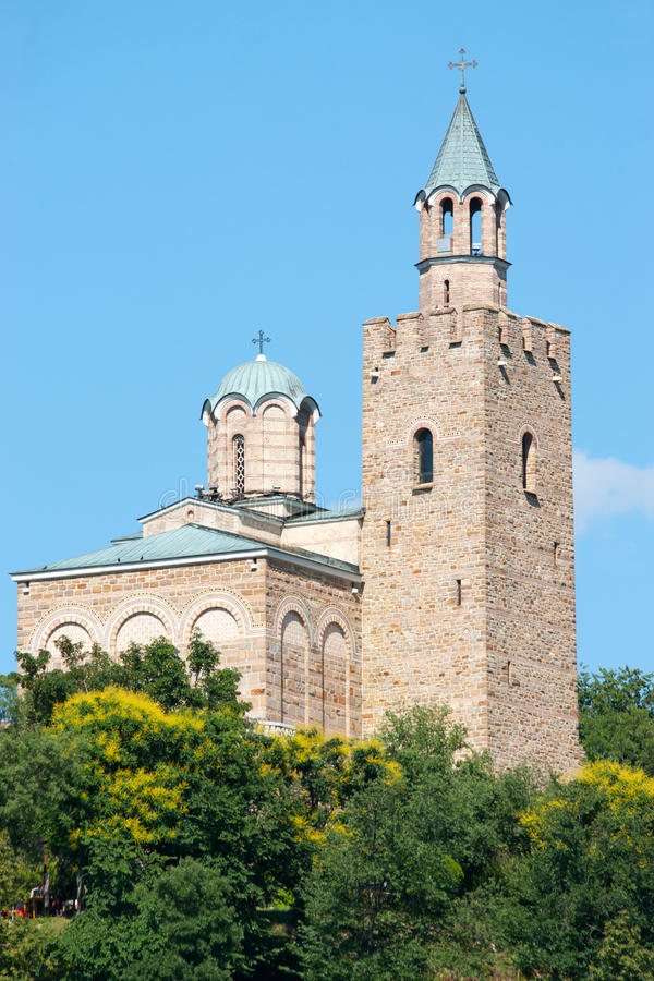 Patriarchal Church Architectural and Museum Reserve Tsarevets in Veliko Tarnovo stock photos
