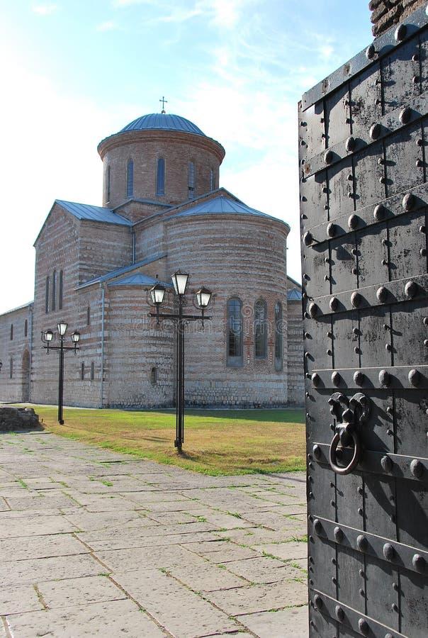 Patriarchale Kathedraal in Pitsunda royalty-vrije stock foto's