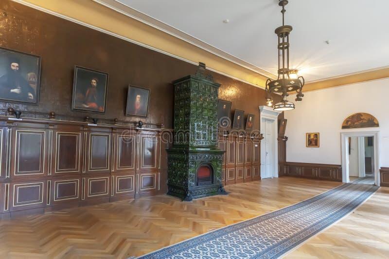 Patriarchia sąd w mieście Sremski Karlovci blisko Novi Sad w V fotografia royalty free
