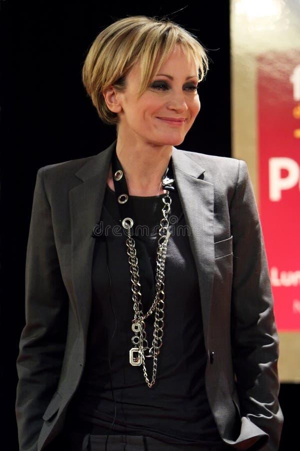 Patricia Kaas à Paris photo libre de droits