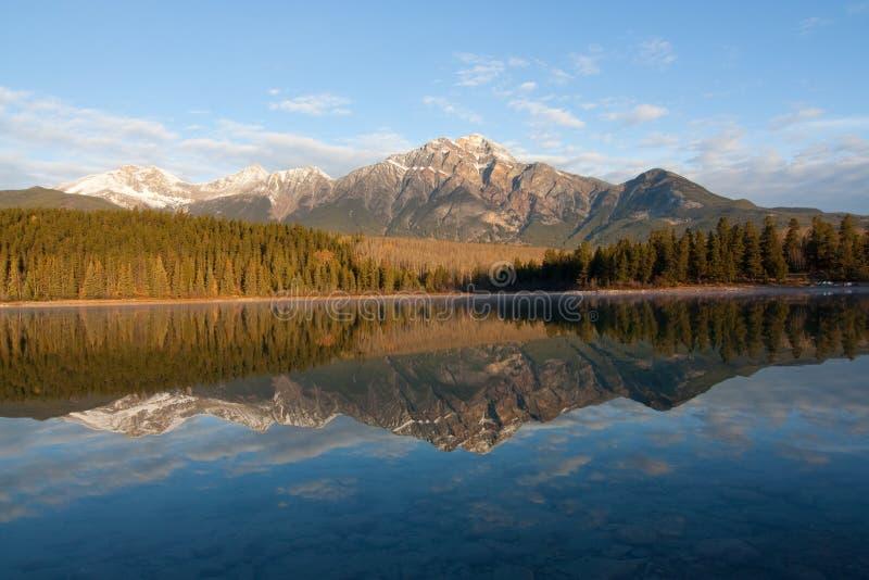 Patricia Lake royalty-vrije stock afbeelding