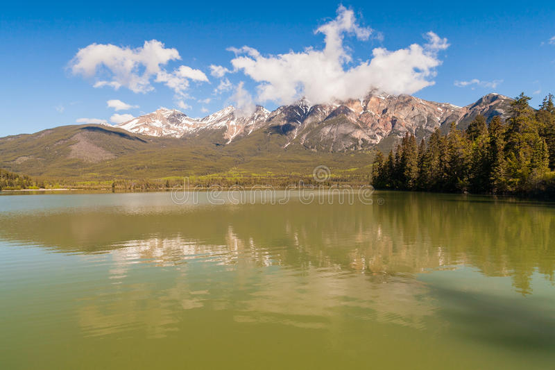 Patricia Lake, Alberta, Canada photo stock