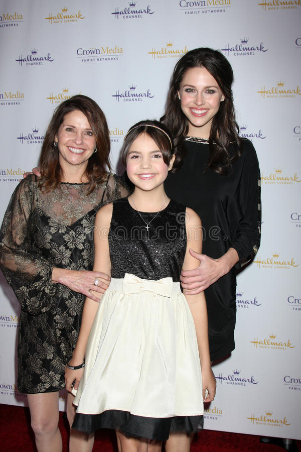 Download Patricia Riley, Baillee Madison, Kaitlin Riley Arrives At  The Hallmark Channel TCA Party Winter 2012 Editorial Image - Image: 23106865