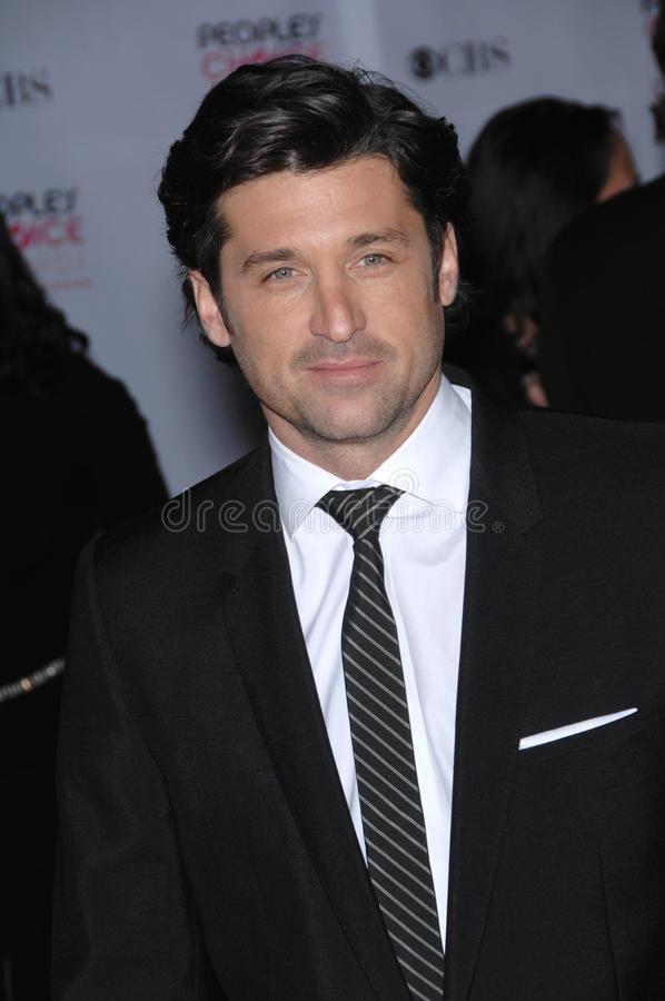 Patrick Dempsey. At the 33rd Annual People's Choice Awards at the Shrine Auditorium, Los Angeles. January 9, 2007 Los Angeles, CA Picture: Paul Smith / royalty free stock photos