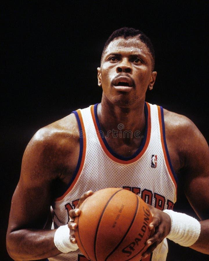 Patrick Ewing New York Knicks fotografía de archivo