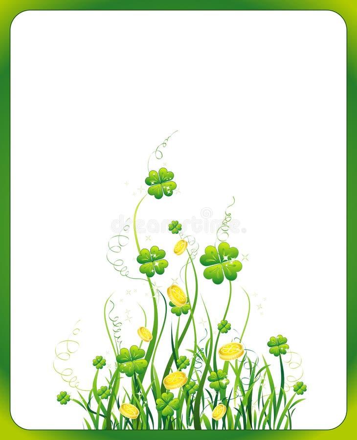 Patrick jest święty dzień wektora royalty ilustracja