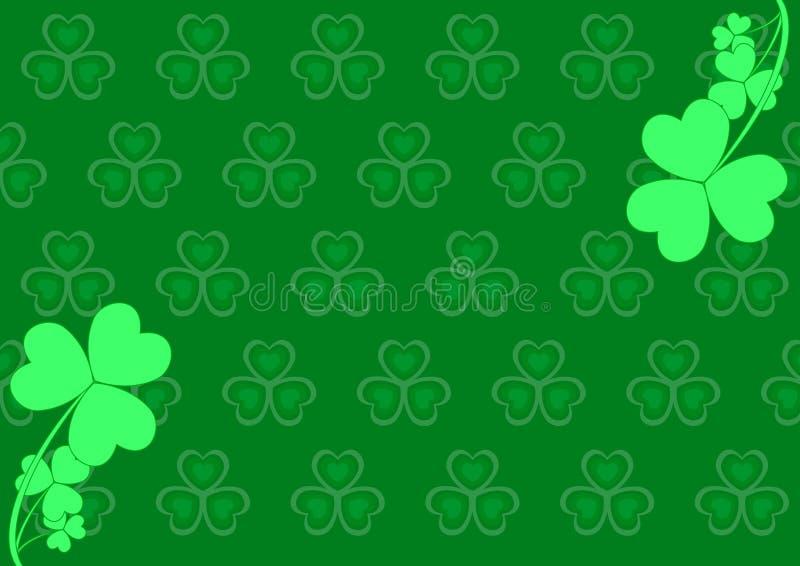 Patrick jest tło dzień św. ilustracji