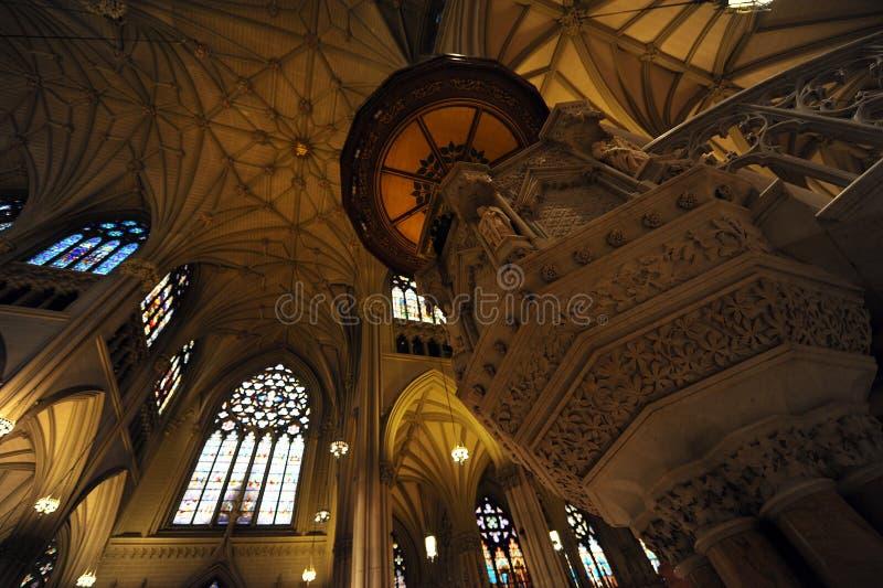 patrick katedralny nowy st s York zdjęcie royalty free