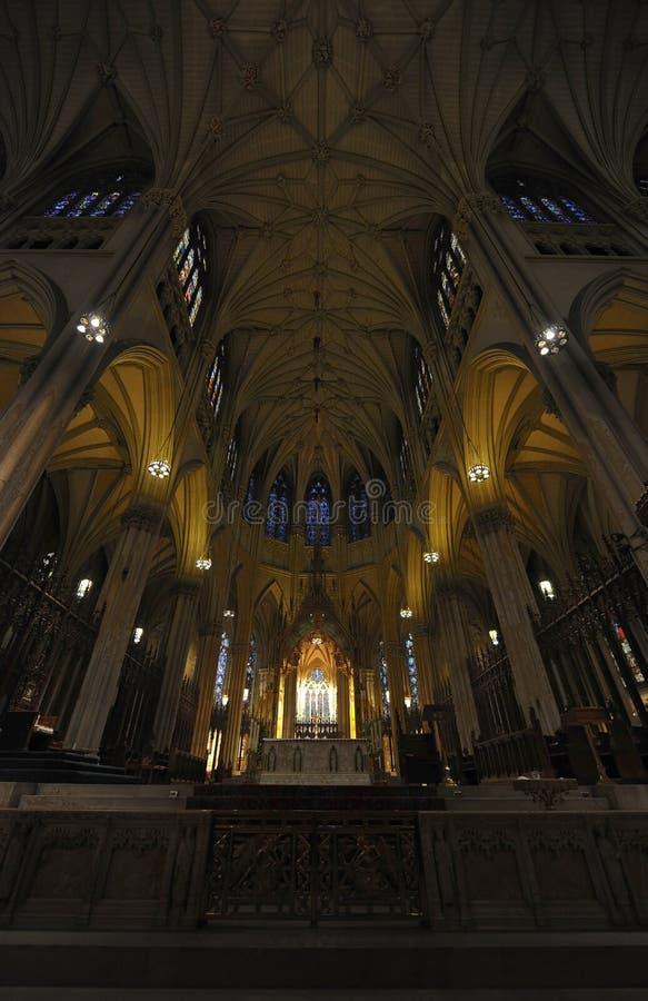 patrick katedralny nowy st s York zdjęcia royalty free