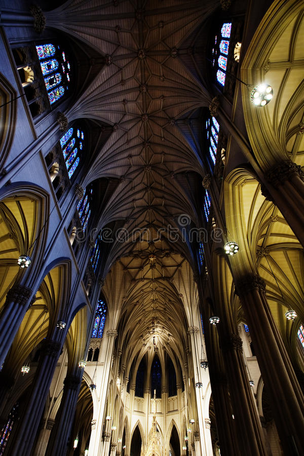 patrick katedralny st s fotografia stock
