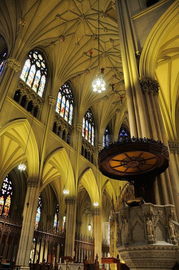 patrick katedralny wewnętrzny st fotografia royalty free