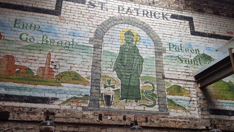 patrick saint arkivfoto