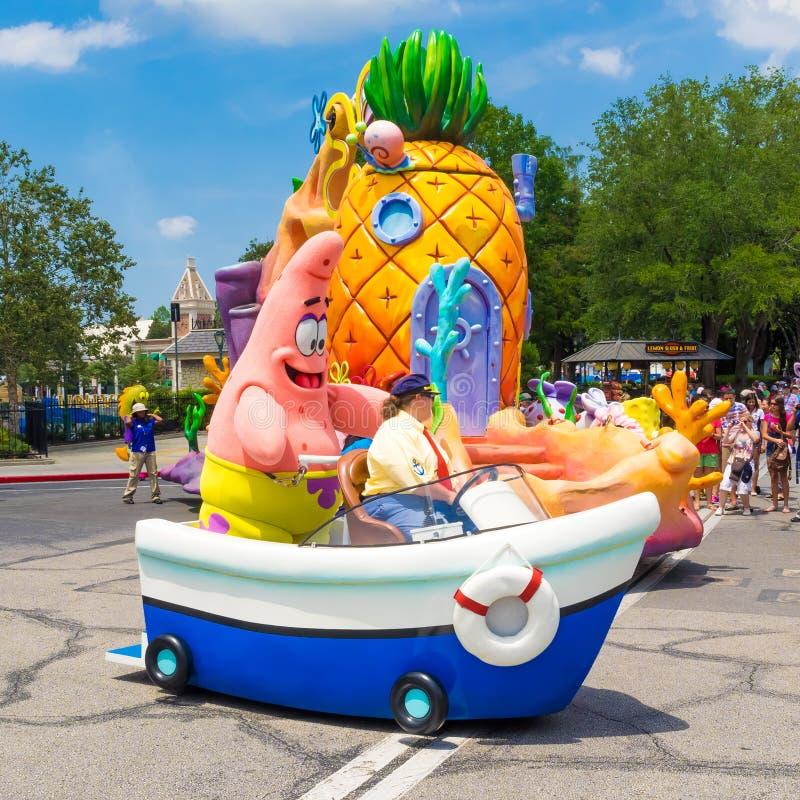 Patrick Star van SpongeBob SquarePant royalty-vrije stock foto